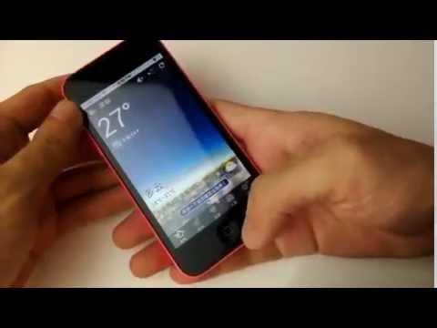 IPhone 5C Android 4.2 com 3G Wi-fi réplica perfeita
