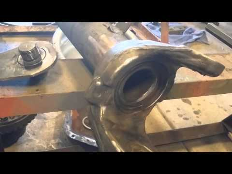 Dana 60 kingpin removal made easy