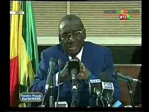 seneweb.com/ declaration de Mr Sidiki Kaba