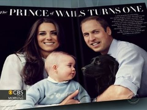 Vanity Fair celebrates Prince George's royal first birthday