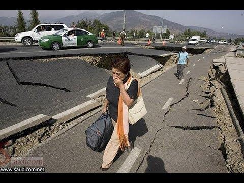 الزلزال لحظة بلحظة بالصوت والصورة ، وكأنك معهم