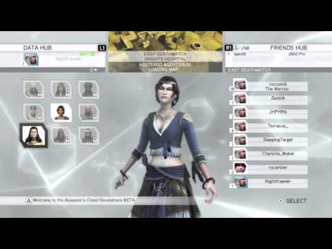 Assassins Creed Revelations Multiplayer Walkthrough - Part 1 (Gameplay &amp; Impressions)