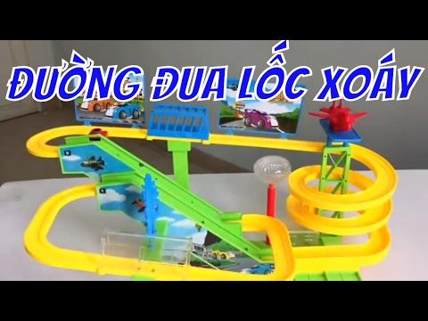 đồ chơi, đường đua lốc xoáy, 3 tang, toy, vlog 3