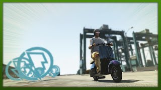 GTA 5 Stunts BEST Stunt Bike EVER!? (GTA V Stunts