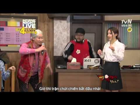 [Video3V.Com] Hài Bựa Hàn Quốc - Mẹ chồng và con dâu khẩu chiến bằng rap