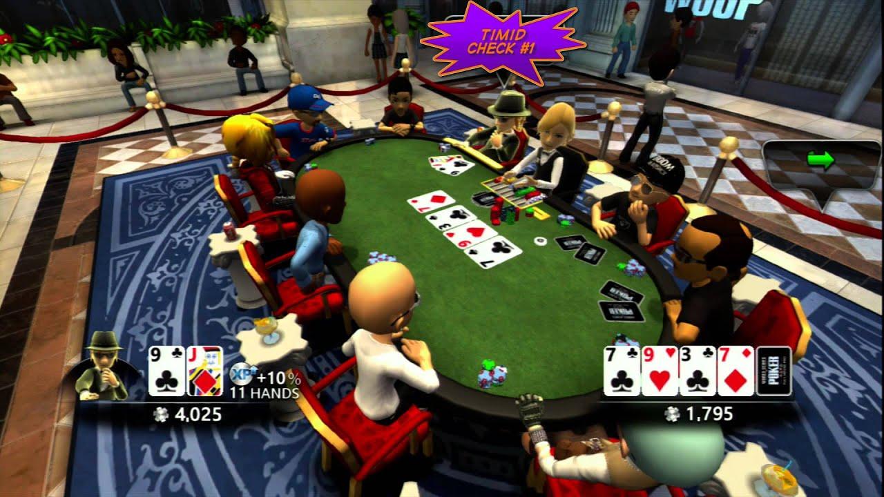 Poker night slow play achievement