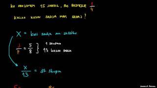 Razmerje in algebra – primer 2