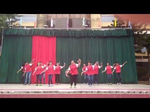 Nhảy Dân Vũ 12A3 - Năm con vịt (K17)