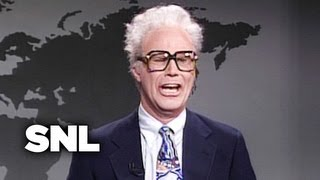 SNL Weekend Update: Harry Caray Breaks Down Yankees/Braves, 1996