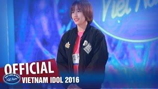 VIETNAM IDOL 2016 - TẬP 1 - NGẠI NGÙNG - HOÀI THU