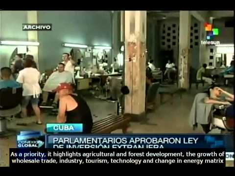 Law on foreign investment in Cuba will boost development