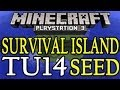 Minecraft ( TU15 ) PS3 / Xbox 360 Best Survival Island Seed Showcase - Title Update 15 ( 1.05 )