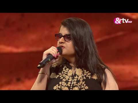 Neha Bhanushali - Performance - Knock Out Round Episode 15 - January 28, 2017 - The Voice India Season2