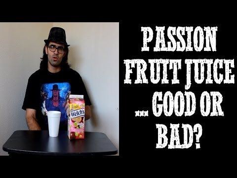Passion Fruit Juice By Welchs - Sweet as Dragons? Freak N Review Ep 8