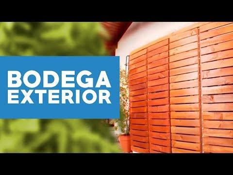 C mo hacer una bodega de exterior youtube for Organizar jardin exterior