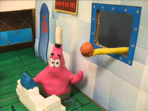 Spongebob Squarepants - Patrick's First Day At Work - YouTube, Class project in 2009.