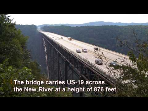 Journey Beneath the New River Gorge Bridge
