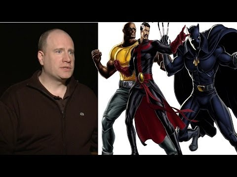 Captain America: The Winter Soldier Kevin Feige on Black Panther, Dr. Strange and Luke Cage