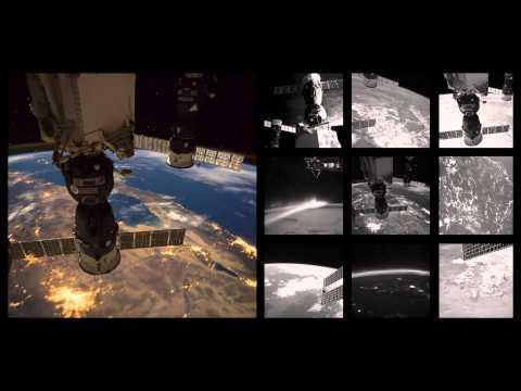 縮時攝影 - 從太空看這美麗的藍色星球
