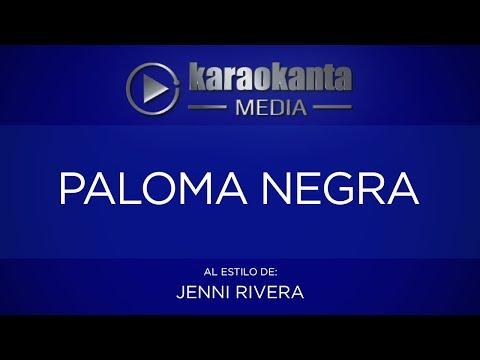 Karaokanta - Jenni Rivera - Paloma negra