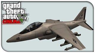 GTA 5 Online NEW Heist Info, Possible Hydra Jet Coming
