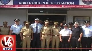 Austrailian Police Officials Team Study Hyderabad Policing