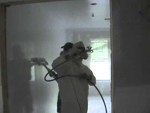 Pintura de parede com m quina de spray youtube - Maquina para pintar paredes ...