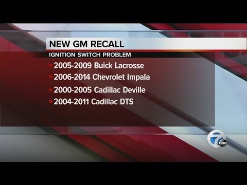 General Motors recalling 3.16 million additional cars in the US for ignition switch problems