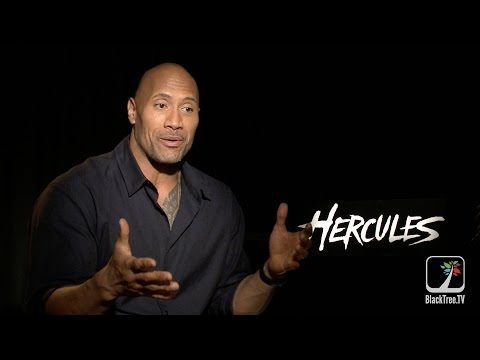 Dwayne Johnson says playing Hercules was his destiny