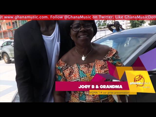 Joey B's grandma happy about his grand son rapping career | GhanaMusic.com Video