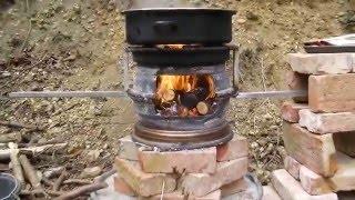 diy outdoorofen felgenofen grill g nstig selber bauen downlossless. Black Bedroom Furniture Sets. Home Design Ideas