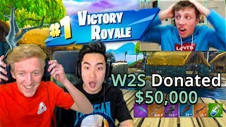 1 VICTORY ROYALE = $50,000 vs RICEGUM & TFUE