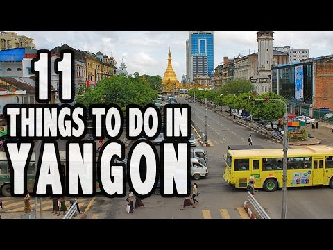 11 Things to Do in Yangon, Myanmar (& How to Get Lost...Successfully)
