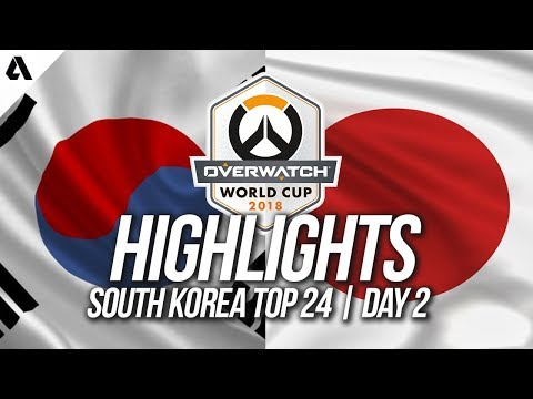 South Korea Vs Japan   Overwatch World Cup 2018 Incheon Qualifier Day 2