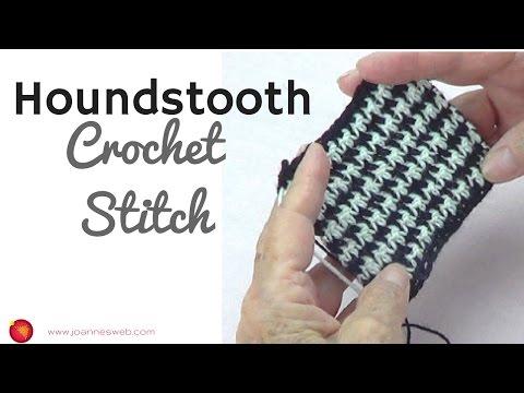 Houndstooth Crochet Stitch - Classic Crochet Pattern