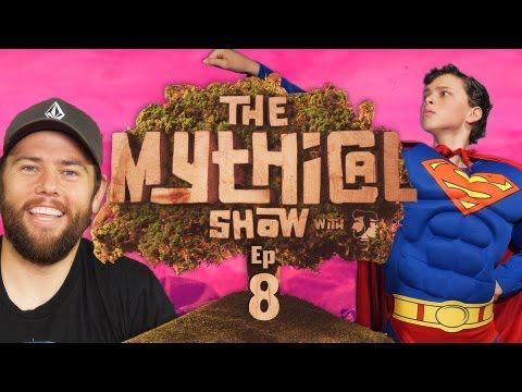 The Mythical Show Ep 8 (Yo Daddy Rap, Shaycarl, & Man of Steel Musical)