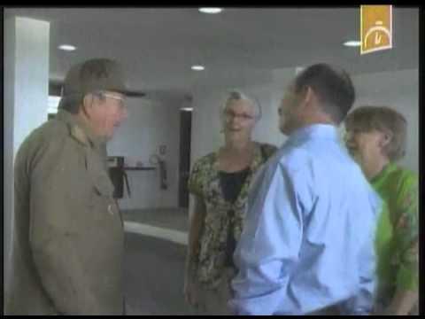 Cuba: Recibe Raúl Castro a Fernando González
