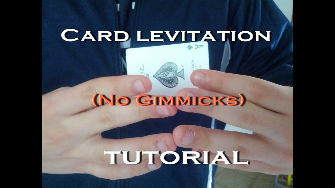 Learn matrix levitation gimmick