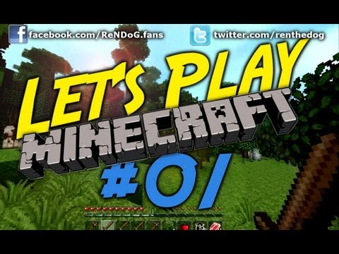 [Part 1] Let's Play Minecraft - Unlucky cows, Rainforests and Mole Holes! - YouTube