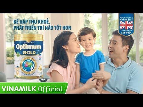 Quảng cáo Vinamilk_Sữa bột cho bé Optimum Gold (30s)
