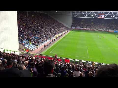 Vitesse - Ajax 6-4-2014 ( 1-1 ) : En Ajax 1 wordt kampioen