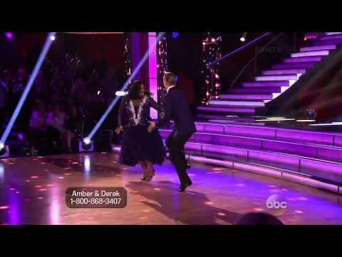 Glee's Amber Riley is Unstoppable With the Fox Trot  - Video