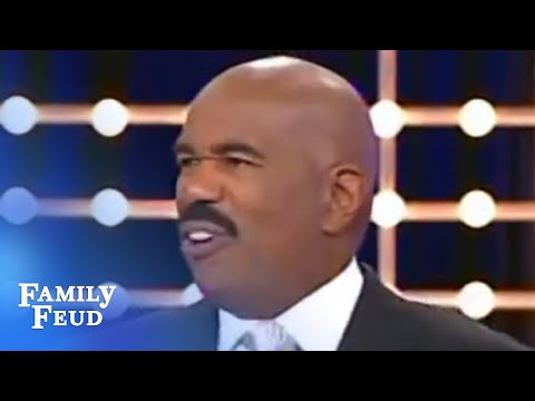 Family Feud - Steve Harvey is the answer!