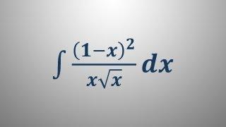 Nedoločeni integral 12