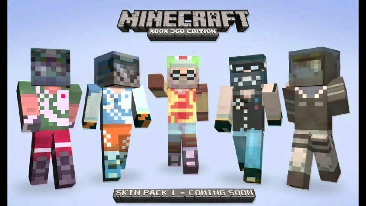 Xbox 360 Minecraft Default Skins Minecraft para Xbox 36...