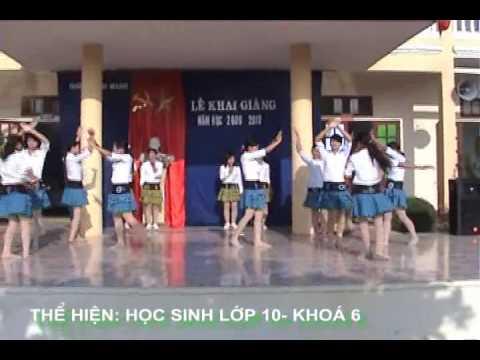 Chúng em hành quân theo bước chân người anh hùgn- THPT  bc Nga Sơn