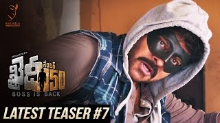 Khaidi No 150 Latest Teaser #7