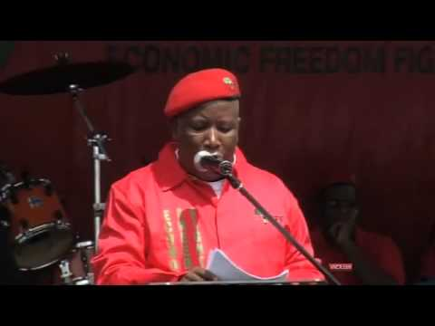 Julius Malema addresses the nation at the EFF's manifesto launch (Part4)