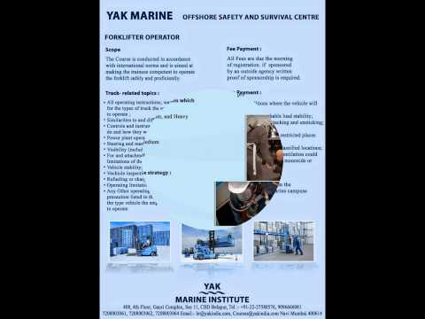 offshore training courses in india @ yak belize cbd belapur