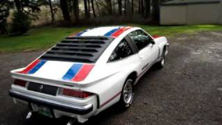 1977 Chevrolet Monza Mirage. Dahnke Autobody.MOV